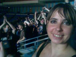 Nuestra MAIDEN, feliz tras el concierto