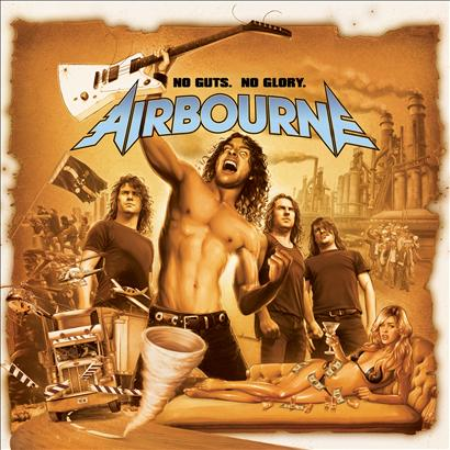 AIRBOURNE - NO WAY BUT THE HARD WAY LYRICS