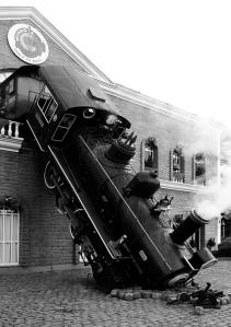 El maquinista de este tren no escucha rock.